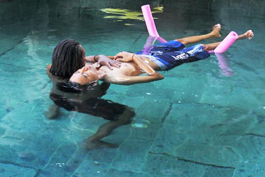 water aerobic water healing