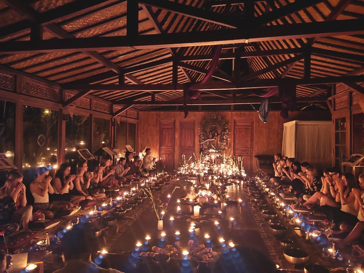 Cacao Kirtan, ceremonies, udara bali